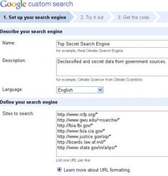 Create a custom search engine for students using just the sites you