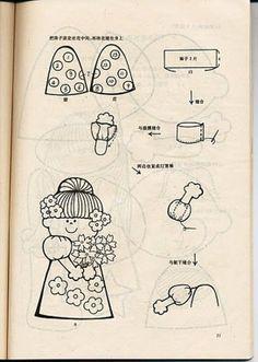 moldes de fieltro (pág. 41) | Aprender manualidades es facilisimo.com