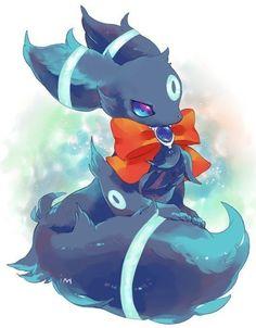 Awesome and Cute Shiny Umbreon Pokemon Umbreon, Pokemon Gif, Pokemon Team, Pokemon Fan Art, Pokemon Rare, Umbreon And Espeon, Eevee Evolutions, All Pokemon, Shiny Umbreon