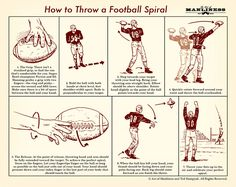 How to Throw a Perfect Football Spiral: An Illustrated Guide
