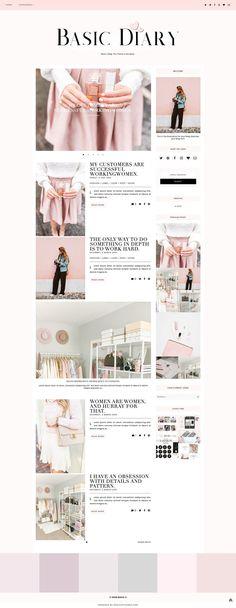 BasicDiary - Blogger Template & Theme  - Responsive Design Custom Blogger Design Responsive Blogger Template Blogger theme blogspot Template