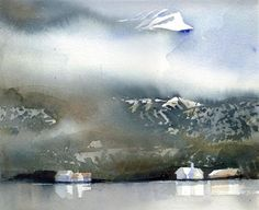 Lena Amstrand. LIke the limited palette and soft white space contrasted with detail areas.
