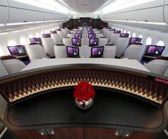 21 en Business Class y First Class de Qatar!