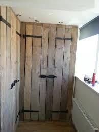 kastdeuren van steigerhout