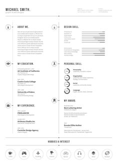 Plantilla Gratis Curriculum Vitae Creativo 19 If you like this cv template. Check others on my CV template board :) Thanks for sharing! Basic Resume, Simple Resume, Creative Resume, Professional Resume, Resume Design Template, Cv Template, Resume Templates, Icones Cv, Cv Simple