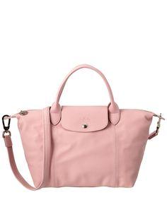 1bf8a2c05 LONGCHAMP Longchamp Le Pliage Cuir Leather Handbag'. #longchamp #bags  #shoulder bags #leather #