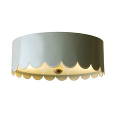 THE SCALLOPED FLUSH MOUNT but I need to figure out how to make this on my own