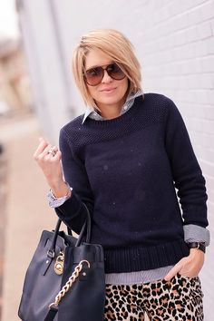 I really like her mix of preppy and fun. Am also slightly obsessed with her hair - but I don't think I can pull it off
