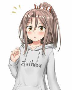 #Anime #AnimeGirl #Girl #Ponytail #LongHair