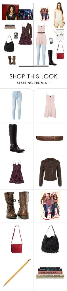 """Aria Montgomery"" by biih-fferreira on Polyvore featuring Frame, Topshop, Sole Society, STELLA McCARTNEY, Abercrombie & Fitch, Miss Selfridge, Steve Madden, Overland Sheepskin Co., Dsquared2 and Paper Mate"