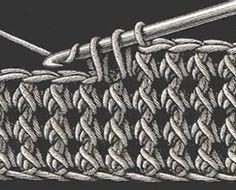 La herencia de ganchillo - puntadas de ganchillo de la vendimia .... #crochet_inspiration. por techiediva