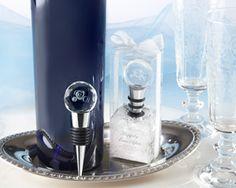 """Cinderella """"Happily Ever After"""" Royal Coach Wedding Favor Crystal Bottle Stopper, ©Disney"""