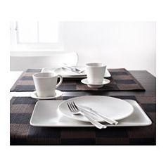 DINERA Plate, beige - IKEA