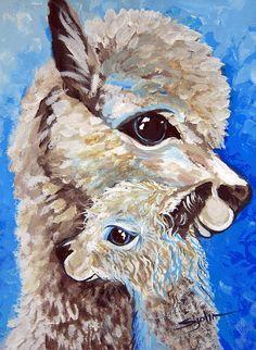 alpaca art