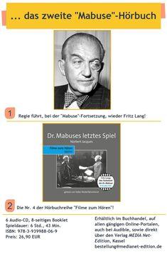Fritz Lang, Audio, Movie, Games, Reading