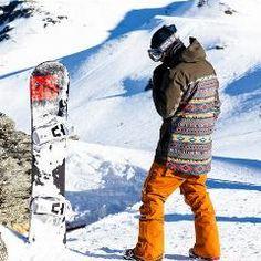 Compre Homens Jaqueta De Esqui À Prova D 'água Jaqueta De Neve Casaco Térmico Para O Esqui Ao Ar Livre Da Montanha Snowboard Plus Size Trajes De Esqui