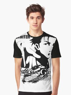 Back To Search Resultsmen's Clothing Honest High Quality Casual Printing Tee Steins;gate El Psy Kongroo Anime Japan Series T-shirt Black Basic Tee Summer T-shirt Tops & Tees