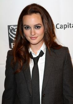 Leighton Meesters long, wavy hairstyle