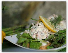 Skagen Salat ala Mjuuugly - verdens bedste skaldyr salat! (A sundhed blog på jagt efter en sundere ...)