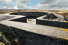 A German anti-aircraft gun emplacement at Hansholm on the North Sea, Denmark  Hitler's Monumental Miscalculation by Malise Ruthven | NYRblog | The New York Review of Books