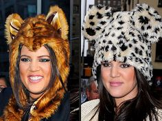 Animal ear hats were popular in 2011, and many people are still wearing them approaching 2013. Since animal hats aren't particularly serious, this may imply that society is becoming more accepting of quirkiness in adult fashion. In the future, adults may have more freedom to express things of childish nature through dress. - Jaimie B