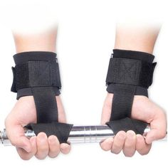 Weight Lifting Training Hand Bar Grips Straps Wrist Support Gym Training Wraps Gloves Sport Safety