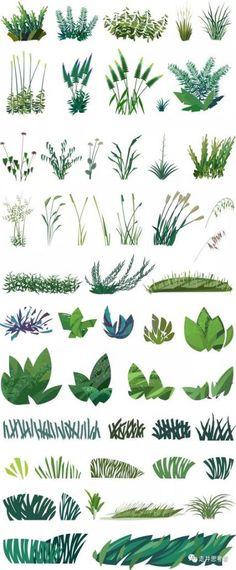 Trendy Plants Png Render Ideas – Best Home Plants Environment Concept Art, Environment Design, Plant Illustration, Digital Illustration, Doodle Drawing, Plant Drawing, Architecture Drawings, Architecture Illustrations, Trees To Plant