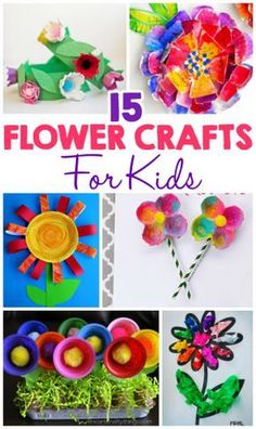 15 Flower Crafts For Kids