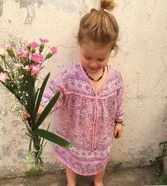 Indian Gauze Lilltle Luna Dress