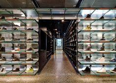 Sneakerboy Store / March Studio Location: Little Bourke Street, Melbourne VIC, Australia