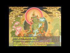 21 Praises to Tara - Chanted by the 17th Karmapa - YouTube