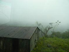 Casas de madera en el Macizo de Peñas Blancas Nicaragua