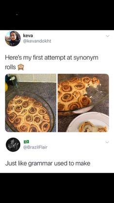 synonym rolls funny jokes humor laughing hard memes