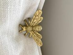 Gold Curtains, Velvet Curtains, Black Bumble Bee, Curtain Tie Backs, White Curtain Tiebacks, Macrame Curtain, Beautiful Curtains, Gold Walls, Copper Metal