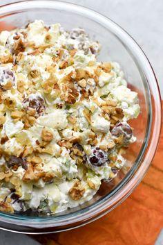 Waldorf Salad ~ https://www.fromvalerieskitchen.com