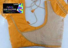 Simple Blouse Designs, Blouse Back Neck Designs, Designer Blouse Patterns, Fancy Blouse Designs, Saree Blouse Designs, Blouse Styles, Dress Designs, Blouse Neck Models, Blouse Desings