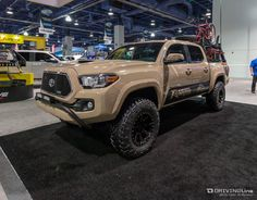 The aftermarket for the Tacoma is stronger than ever. We take a look at some of the hottest Toy setups at the show.