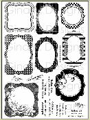 Gina K Designs - Lovely Labels 1, works w/ Nestabilities Labels 1, 4, 8 & 9
