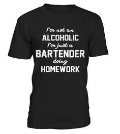Best Bartender front 30 Shirt