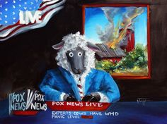 Baaad News  Sheep incognito  http://www.charisma-art.com/
