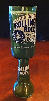 Upcycled-Rolling-Rock-Beer-Bottle-Soy-Candle