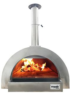 ilFornino F- Series Mini Wood Fired Pizza Oven- Portable Stainless Steel ilFornino http://www.amazon.com/dp/B00H5RY0S4/ref=cm_sw_r_pi_dp_Ejbcxb1D2XGHN