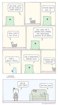 Funny Webcomic Imagines Cute Animals In Random, Human-Like Situations - DesignTAXI.com