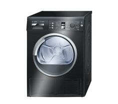 Buy BOSCH WTE863B1GB Condenser Tumble Dryer - Black | Free Delivery | Currys