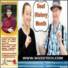 Deaf History Month Alice Hagemeyer founder of Friends of Libraries for Deaf Action(FOLDA) now the Library Friends Section of NAD actively promotes Deaf History Month annually. During this month libraries are encouraged to have deaf awareness activities. #youthicon #motivationalspeaker #inspirationalspeaker#mentor #personalitydevelopment #womenempowerment #womenentrepreneur #entrepreneur  #ruzankhambatta #womenleaders #DeafHistoryMonth