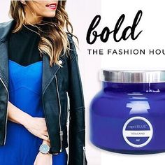 #FOOL proof fashion, just like the pros! Love this #bold outfit styled by The Fashion Hour  // #capriblue #capribluestyle #foolprooffashion