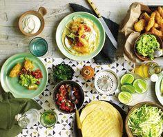 fish tacos // & beautiful food photography! Love.