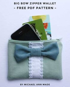 This pouch is fully lined and is the perfect size for holding your credit cards or other small items.