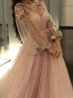 Beading Long Sleeve Prom Dresses Floor-length Sparkly Beading Long Prom Dress Beading Long Sleeve […] The post Beading Long Sleeve Prom Dresses Floor-length Sparkly Beading Long Prom Dress appeared first on How To Be Trendy. Floral Prom Dresses, Prom Dresses Long With Sleeves, Tulle Prom Dress, Cheap Prom Dresses, Dance Dresses, Pretty Dresses, Beautiful Dresses, Formal Dresses, Wedding Dresses