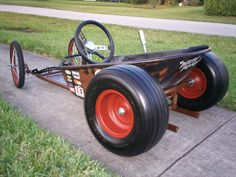 Wheel Barrel soapbox rod, this is so cool.